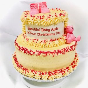 Cake for Christening celebration
